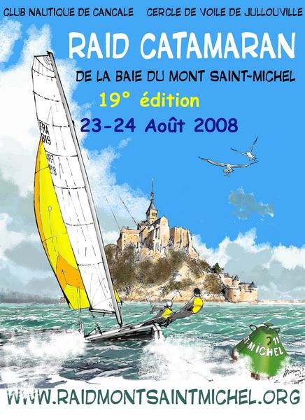 affiche raid MSM 2008